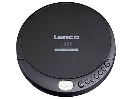 LENCO Portabler CD Player - CD-200 mit Ladefunktion