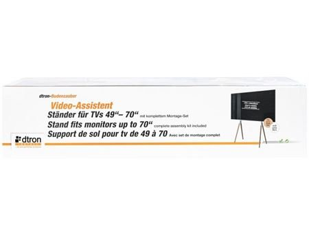 "DTRON Standfuss- Dtron Video-Assistent TV-Stand, 49""-70"""